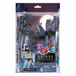 HEROCLIX DC BATMAN ANIMATED SERIES STARTER SET