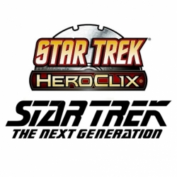 STAR TREK HEROCLIX AWAY TEAM: NEXT GENERATION STARTER SET