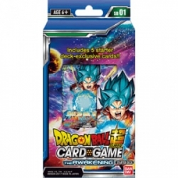 DRAGON BALL TCG MAZOS AWAKENING (6) *INGLÉS*