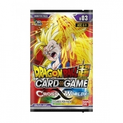 DRAGON BALL TCG SOBRES CROSS WORLDS (24) *INGLÉS*
