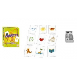 Juego de cartas Conecta 2 familiar de Mercurio distribuciones