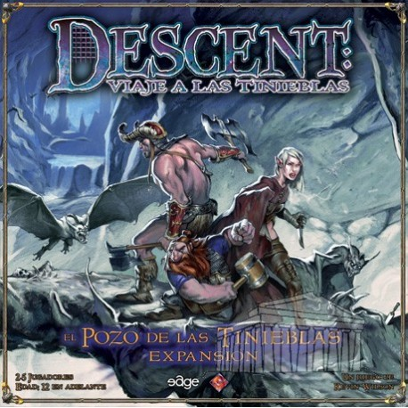 Descent, The Well of Darkness cooperative board game