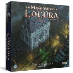 Expansión Calles de Arkham de Las Mansiones de la Locura Segunda Edición