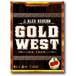 Juego de mesa Gold West de gestión de recursos de 2 Tomatoes Games