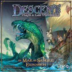 Descent, El mar de Sangre expansión juego de mesa cooperativo
