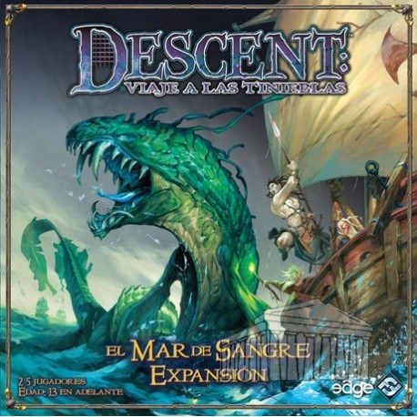 Descent, The Sea of Blood expansion cooperative board game