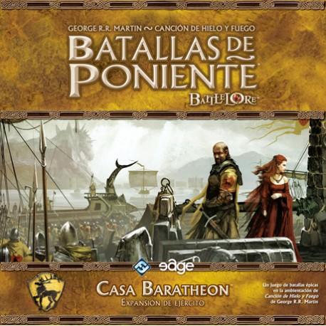 Expansión Batallas de poniente Casa Baratheon ejército