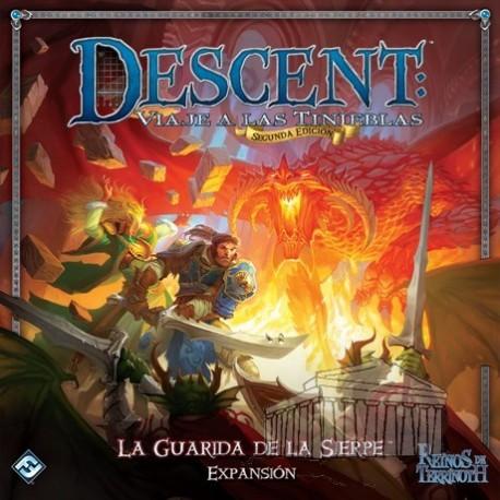 Expansión Descent, la guarida de la Sierpe para juego básico