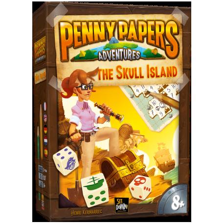 Juego de mesa familiar Penny Papers: La Isla de la Calavera