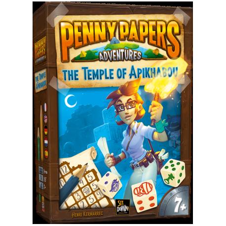 Comprar Juego De Mesa Familiar Penny Papers El Templo De Apikhabou