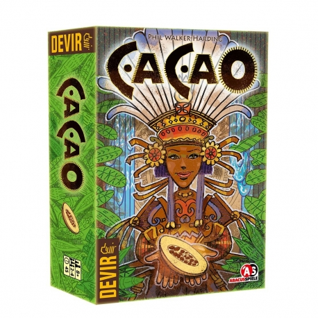 Resource management board game Cacao from Devir