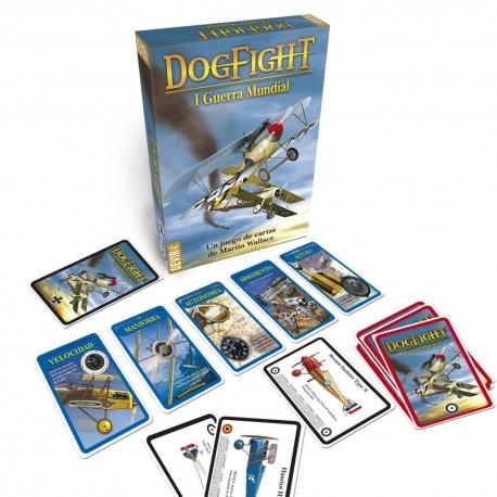 Juego de cartas Dogfight de la Primera Guerra Mundial de Devir