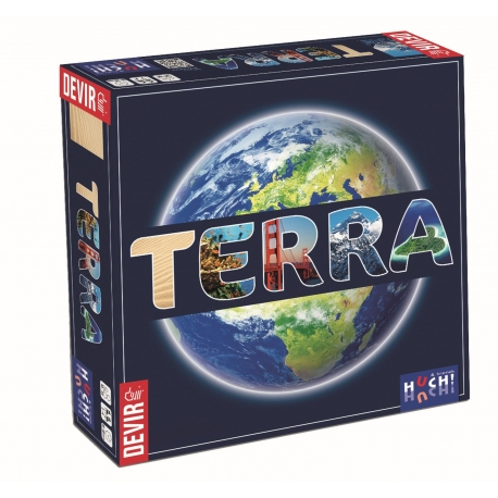 Board game of questions and answers Terra from Devir