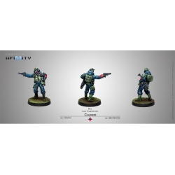 CHASSEURS (RIFLE, LIGHT FLAMETHROWER) INFINITY FROM CORVUS BELLI REF.: 280198-0725