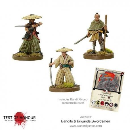 BANDITS AND BRIGANDS SWORDSMEN TEST OF HONOUR