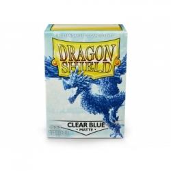FUNDA DRAGON SHIELD MATTE CLEAR BLUE (100)