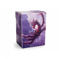 DRAGON SHIELD DECK SHELL - RACAN CLEAR PURPLE