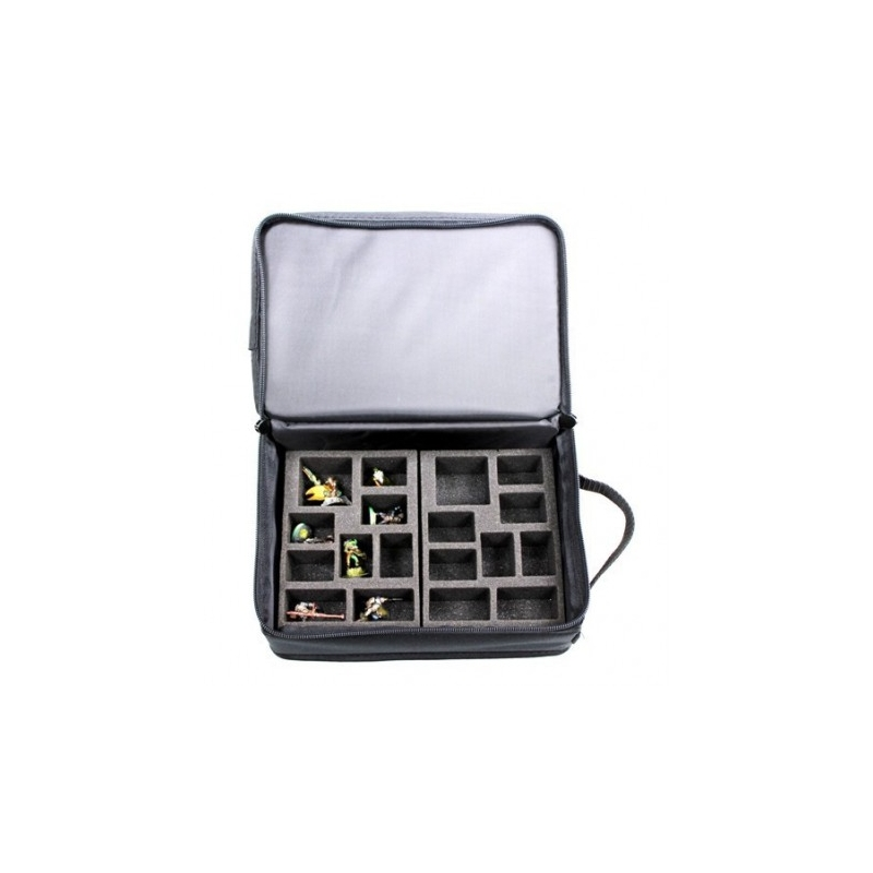 Buy Transport Bag For Miniatures Beta Half Tray By Battle Foam Tokens in the command board can be either standing or flat for storage. turol games