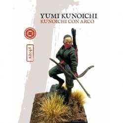 KUNOICHI CON ARCO