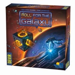 Juego de mesa Roll for the Galaxy de Devir y Río Grande Games