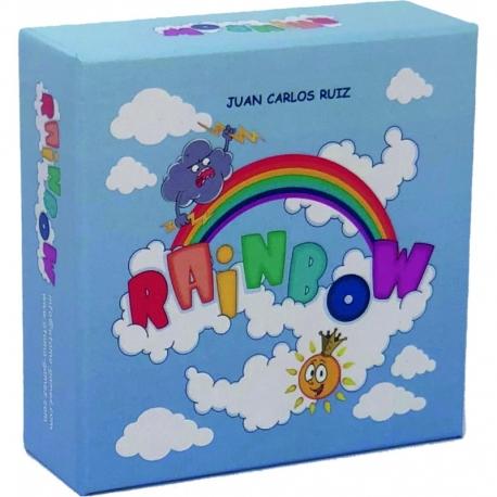RAINBOW es un juego de cartas para los más pequeños de la casa y en general para toda la familia.