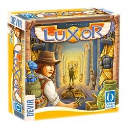 Juego de mesa de aventuras Luxor de Devir y Queen Games