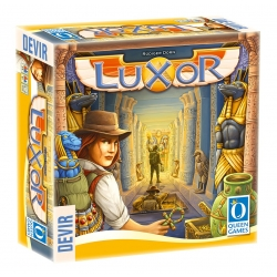 Luxor adventure table game from Devir and Queen Games