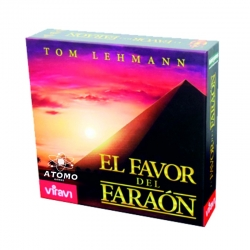The Favor of the Pharaoh is an adventure board game set in Egyptian society