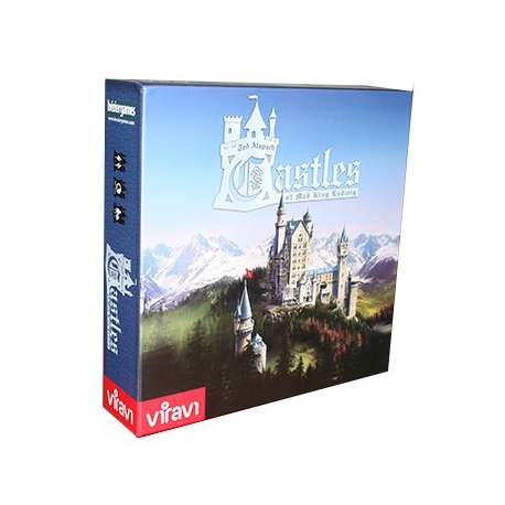 En Castles Of Mad King Ludwig, cada jugador tratará de construir un magnífico castillo, sujeto a los antojos del rey