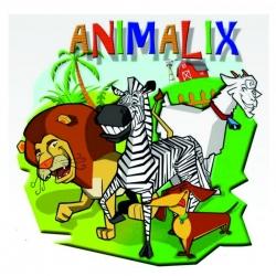 Juego de cartas Animalix de habilidad y destreza visual para niños