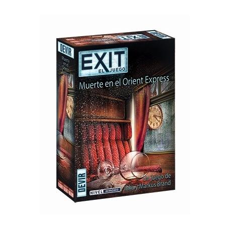 Vive una experiencia de sala de escape en tu casa con el nuevo juego de Devir Exit Muerte en el Orient Express