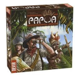Papúa, juego de mesa de aventuras de Devir