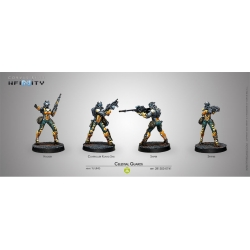 Celestial Guards Yu Jing Infinity by Corvus Belli reference 281303-0741