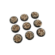 Skulls Bases, WRound 30mm (5)
