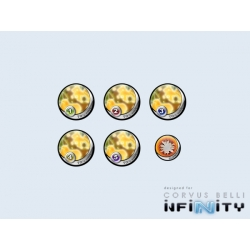 Infinity Tokens TOCamo Yellow (6)