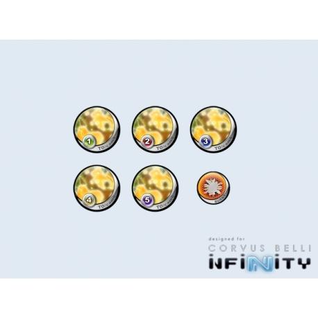 Infinity Tokens TOCamo Yellow (6)