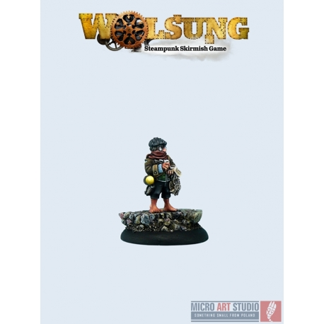 Wolsung Miniatures Timmy Weasel O'Connor (1)