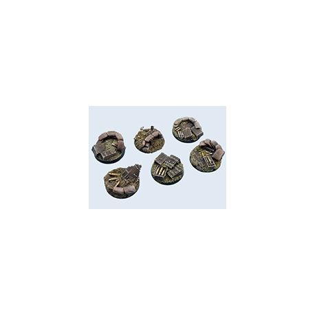Trench Bases, Round 40mm (2)