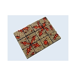CHAOS WASTE BASES, 25X25MM (5)
