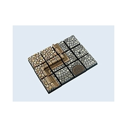 Cobblestone Bases, 20x20mm (5)