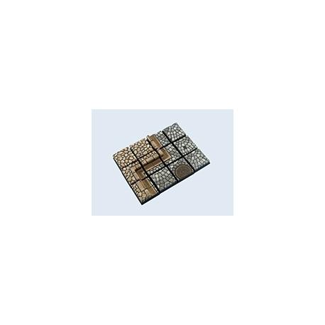 Cobblestone Bases, 20x20mm (5)