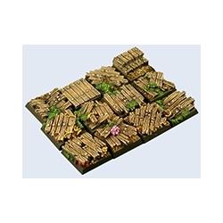 Wood Bases, 20x20mm (5)