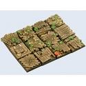 Wood Bases, 25x25mm (5)