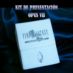 FINAL FANTASY TCG OPUS 7 PRE-RELEASE KIT (SPANISH)