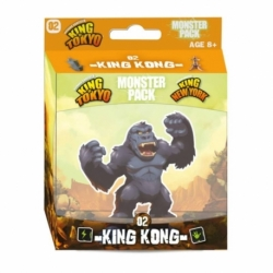 KING OF TOKYO/ NEW YORK: MONSTRUOS KING KONG