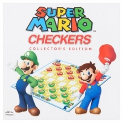 TABLE GAME SUPER MARIO BOARDGAME CHECKERS (ENGLISH)