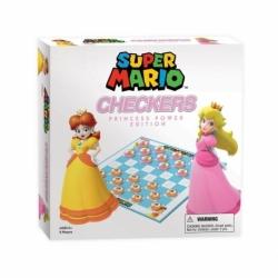 TABLE GAME SUPER MARIO BOARDGAME CHECKERS PRINCESS POWER (ENGLISH)