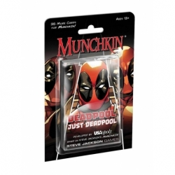 CARD GAME MUNCHKIN DEADPOOL EXPANSION (ENGLISH)