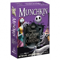 CARD GAME MUNCHKIN: THE NIGHTMARE BEFORE CHRISTMAS (ENGLISH)