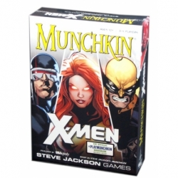 CARD GAME MUNCHKIN X-MEN (ENGLISH)